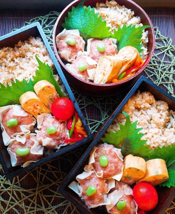 ツナと生姜と塩昆布の炊き込みご飯