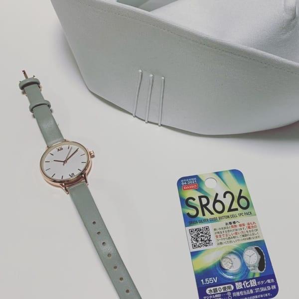 レディース腕時計:グレーベルト