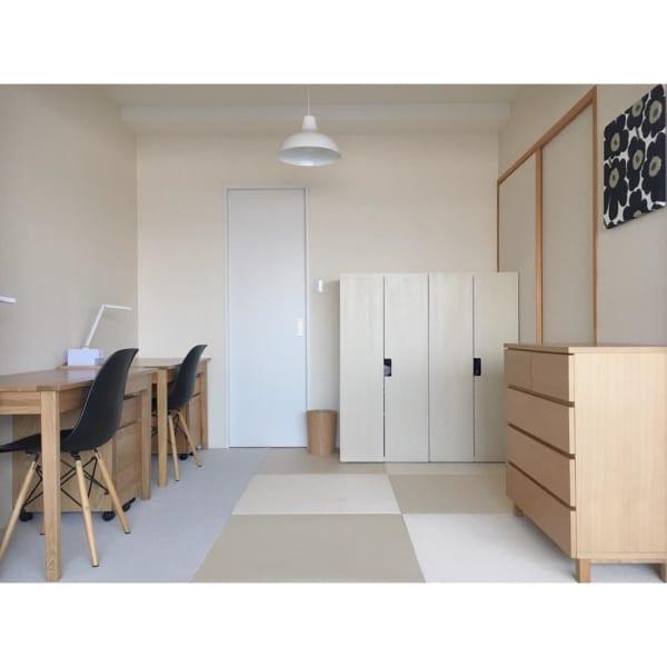 シンプルインテリアでつくる子供部屋2