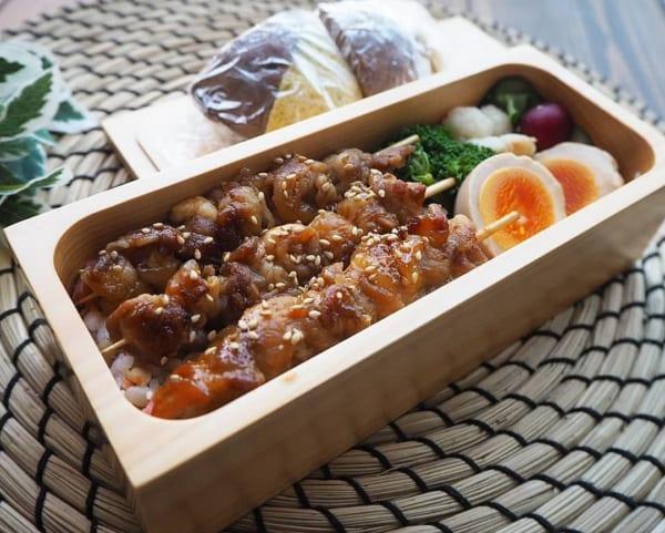 豚串のお弁当