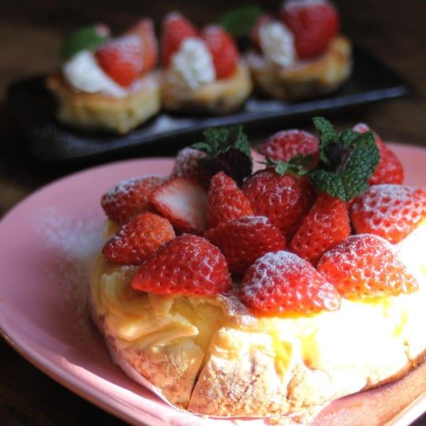 フルーツベイクドチーズケーキ