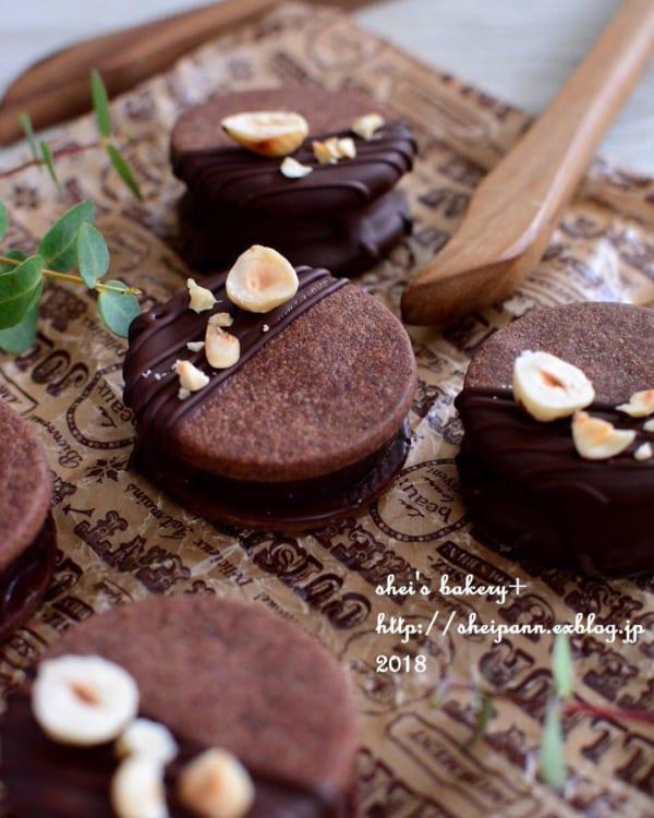 チョコクッキーの人気レシピ1