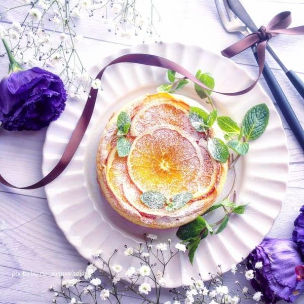 フルーツベイクドチーズケーキ2