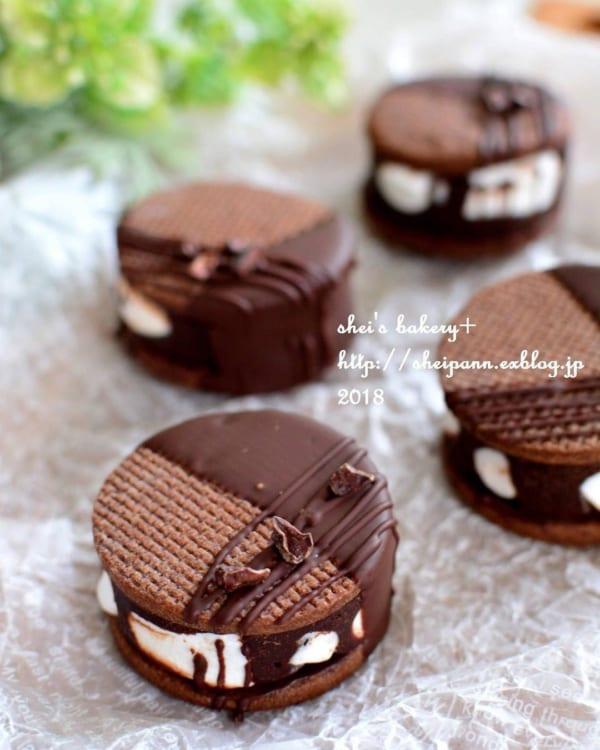 チョコクッキーの人気レシピ2