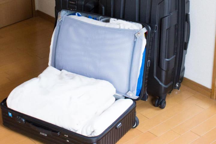 ◇スーツケースを使う