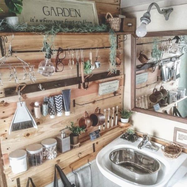 賃貸でもOKな簡単洗面台DIY9