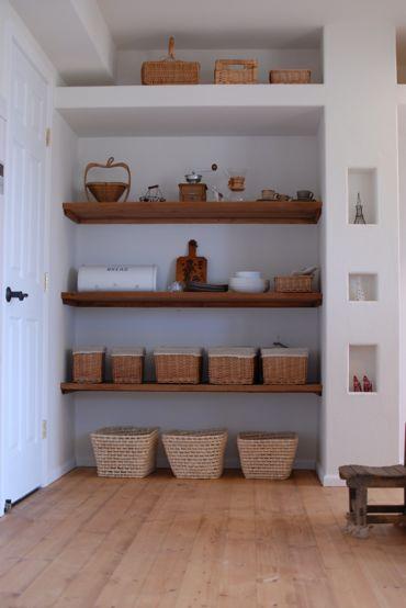大きなニッチ棚と小さなニッチ棚