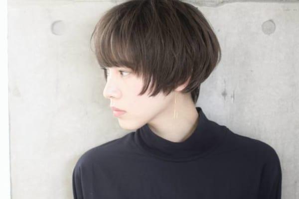 ハンサムショート×前髪あり7