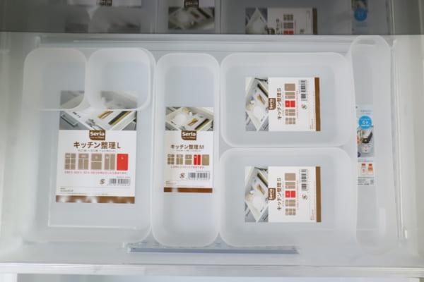 セリア ダイソー 冷蔵庫 収納2