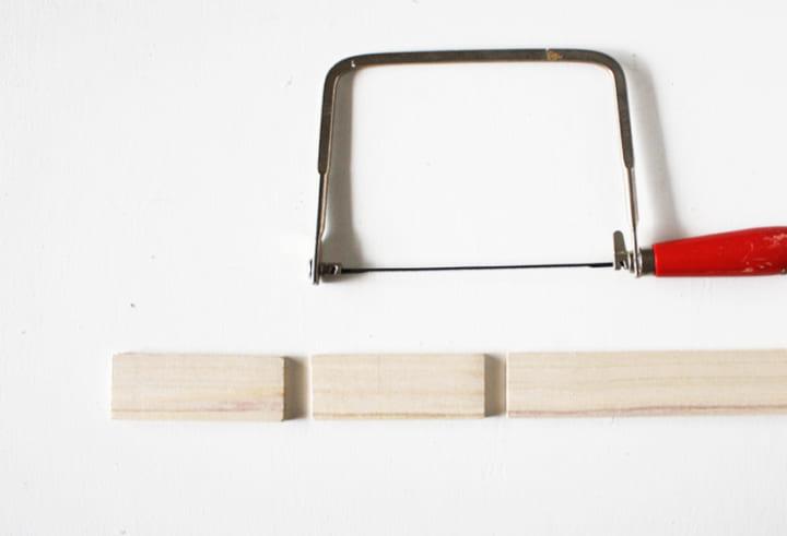 古道具風レターラックの作り方1