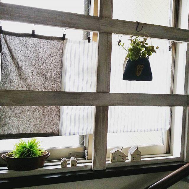 カーテンは透け感のあるものを使う3