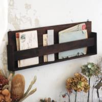 【連載】材料費たったの300円!セリアの木板で「古道具風レターラック」を作ろう!
