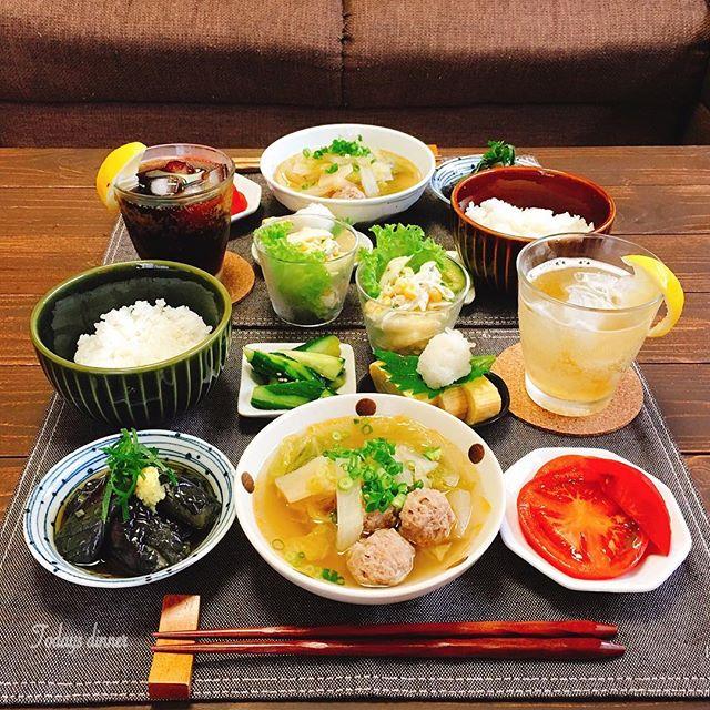 肉団子と白菜と大根のスープ煮