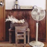 扇風機で涼し気な空間にしよう♪扇風機のあるおしゃれなインテリア