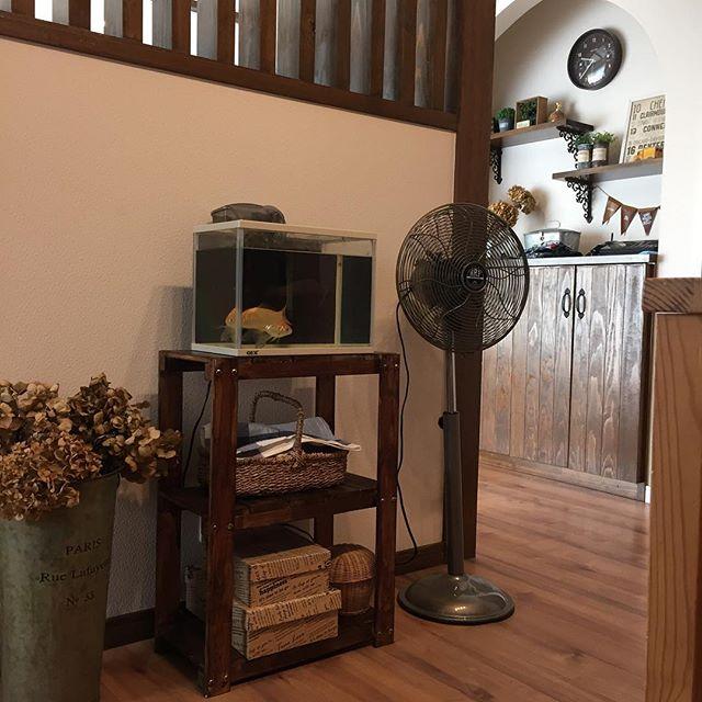 扇風機のあるシンプルな空間2