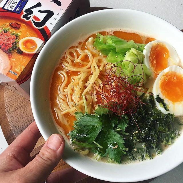 インスタントラーメンのアレンジレシピ3