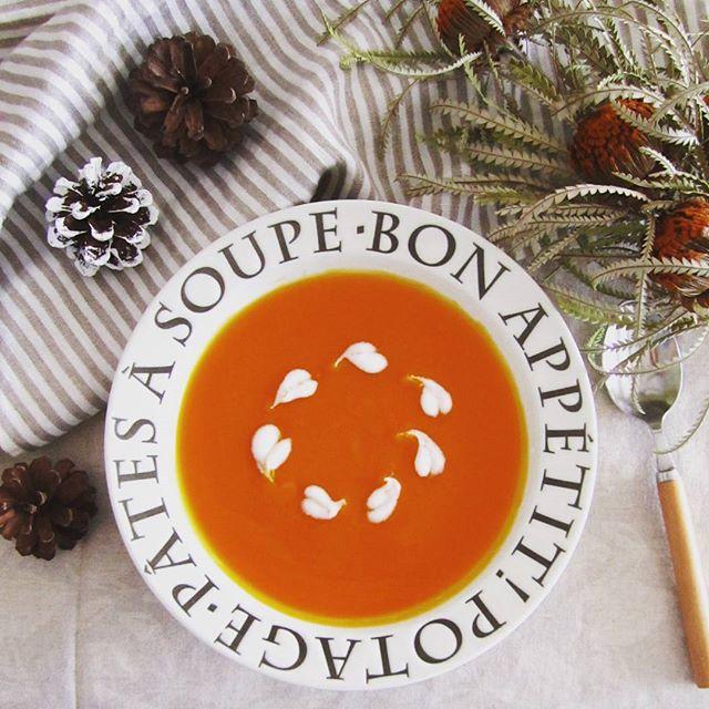 バターナッツかぼちゃのスープ