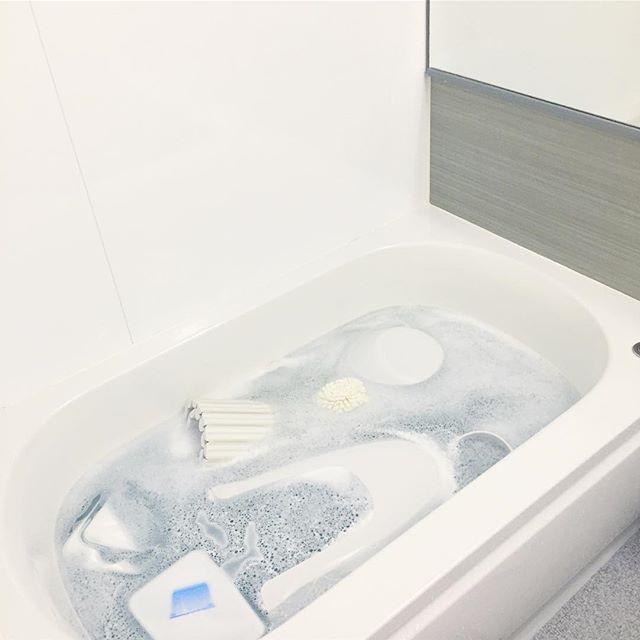 くつろげるお風呂の基本は清潔第一!3
