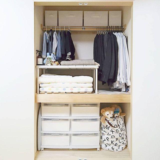 ニトリ・IKEAアイテムを活用した子供服収納アイデア☆3