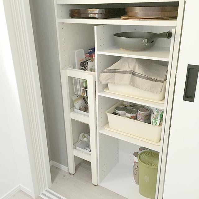 キッチン用品も収納