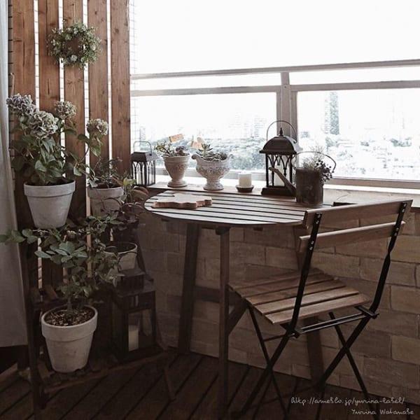 小さなスペースでもこんなに素敵な空間に♡2