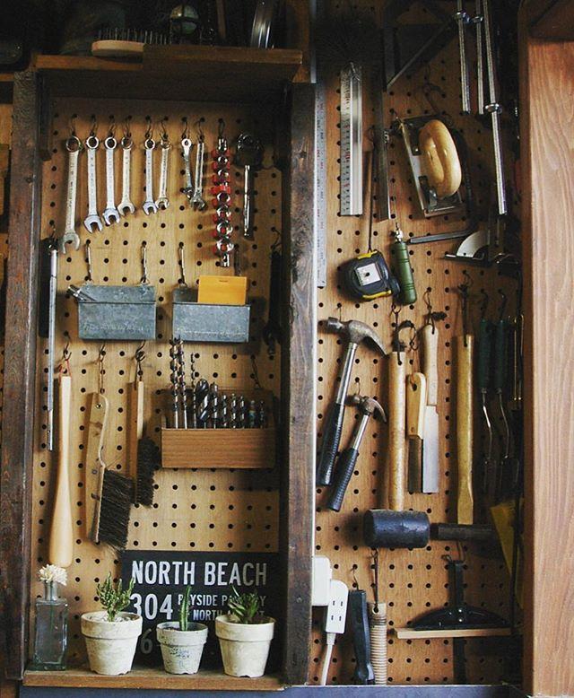 工具収納として使う