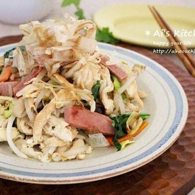 沖縄料理 炒め物4