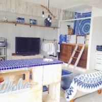 ハワイアンで南国インテリア!季節感のある爽やかなお部屋
