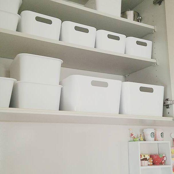 ニトリ・IKEAアイテムを活用した子供服収納アイデア☆5