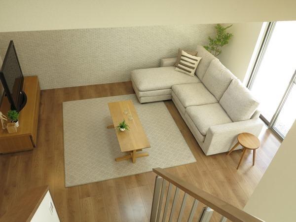 一人暮らしにも役立つソファのレイアウト実例