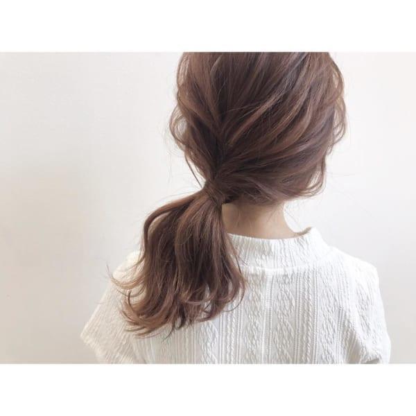 秋におすすめのミディアムの髪型&アレンジ14