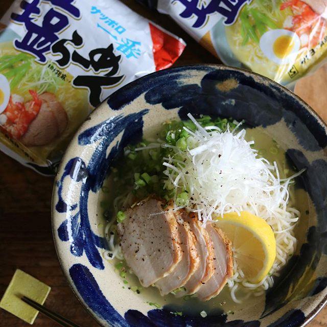 インスタントラーメンのアレンジレシピ2