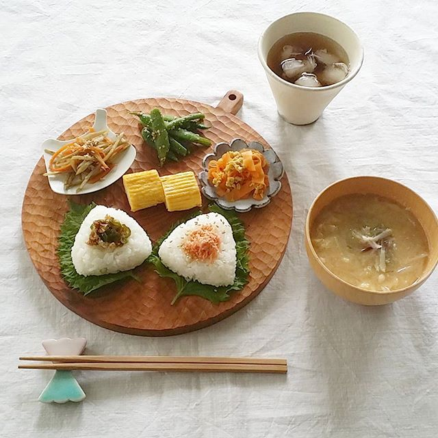 木製の食器