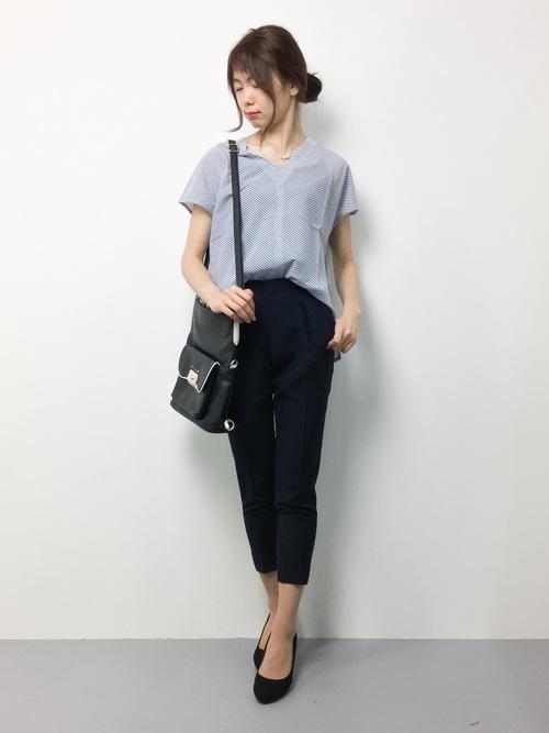 [UNITED TOKYO] スリムストレートパンツ