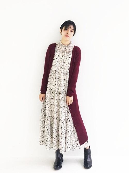 [haco!] 【セールにならないお約束】美シルエットがうれしい着方自由のオトナリブニットカーディガン