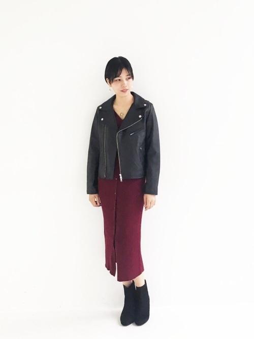 [haco!] 【セールにならないお約束】美シルエットがうれしい着方自由のオトナリブニットカーディガン2