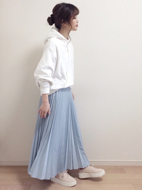 [mystic] プリーツスカート