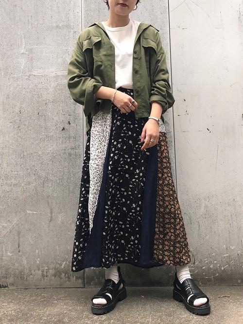 [PAGEBOY] ミリタリー BIGシャツジャケット