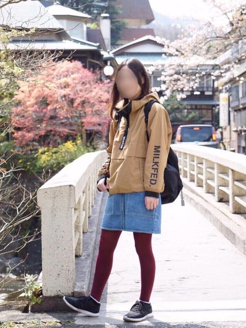 秋の旅行コーデ《スカート》2