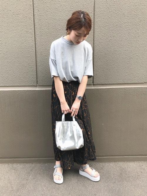 [Bou Jeloud] ◆ゆったりシルエット◆ラメプチハイネックTシャツ