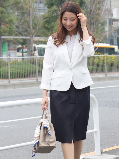 [ASTORIA ODIER] 【ウォッシャブル】テーラードジャケット