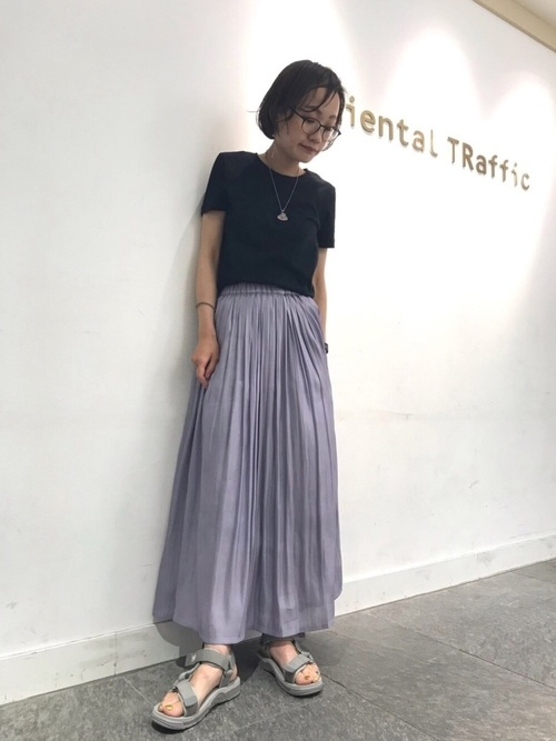 [ORiental TRaffic] 春夏新作★ベルクロスポーツサンダル★9271