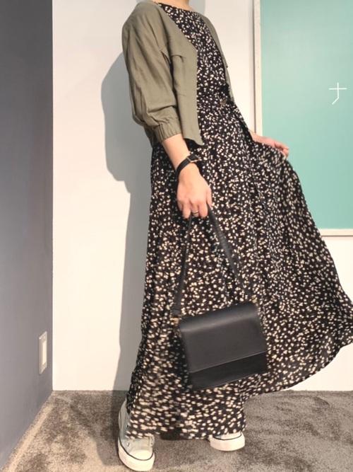 [natural couture] レーヨン麻てろっとライトブルゾン