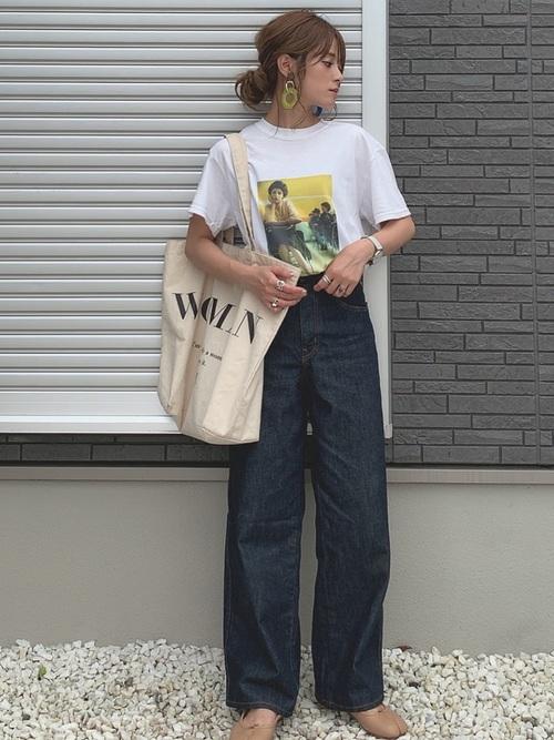 ユニクロパンツのお手本コーデ集12