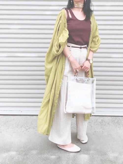 ユニクロパンツのお手本コーデ集9