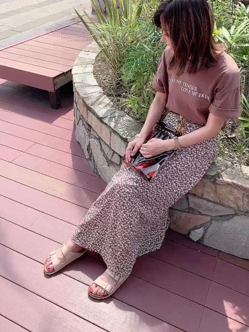 スカートがGU