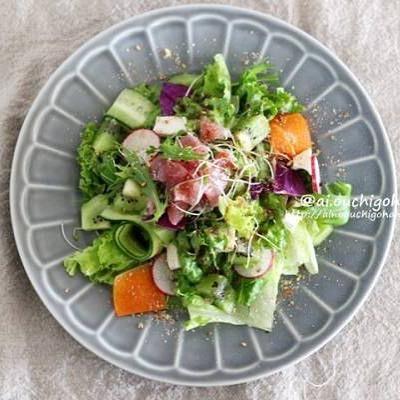 この一皿で元気に!パワーサラダ