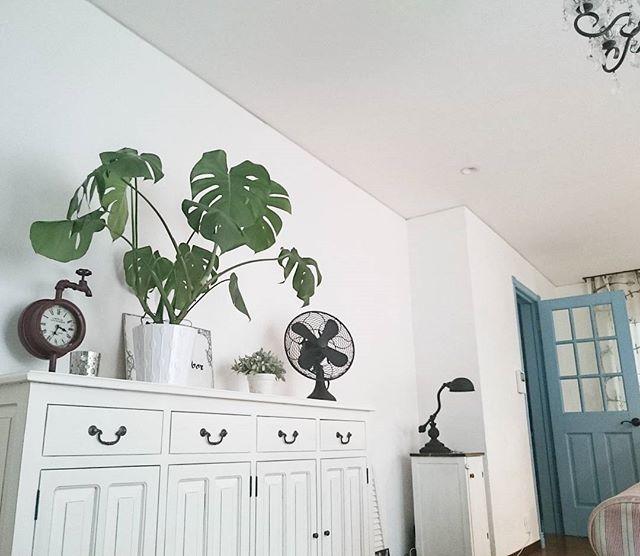 レトロな扇風機で楽しむ空間1
