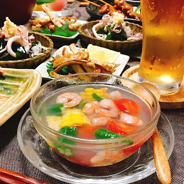 ミネストローネ 副菜2