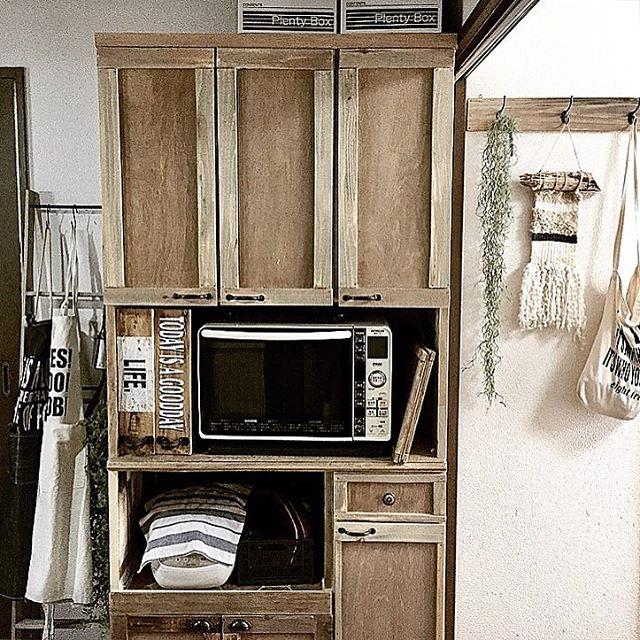 キッチンボード・カウンターの大幅イメチェン